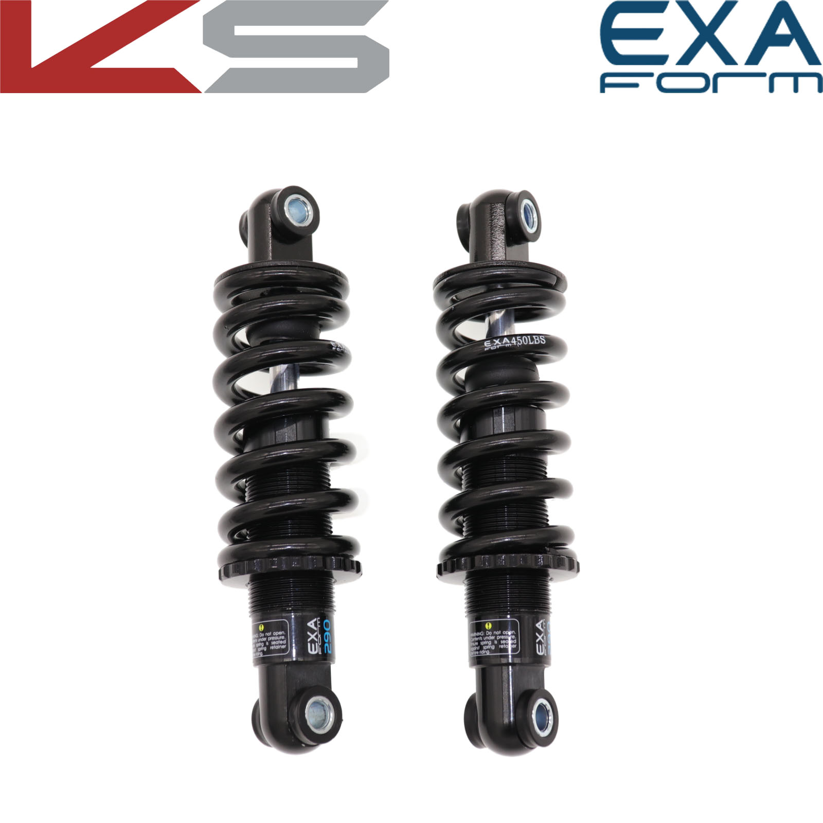 EXA Form Bike Rear Shock Absorber 290 291 Suspension Shocks Spring Kindshock Durable MTB Bike E Scooter 125 1000 1250 Lbs 850