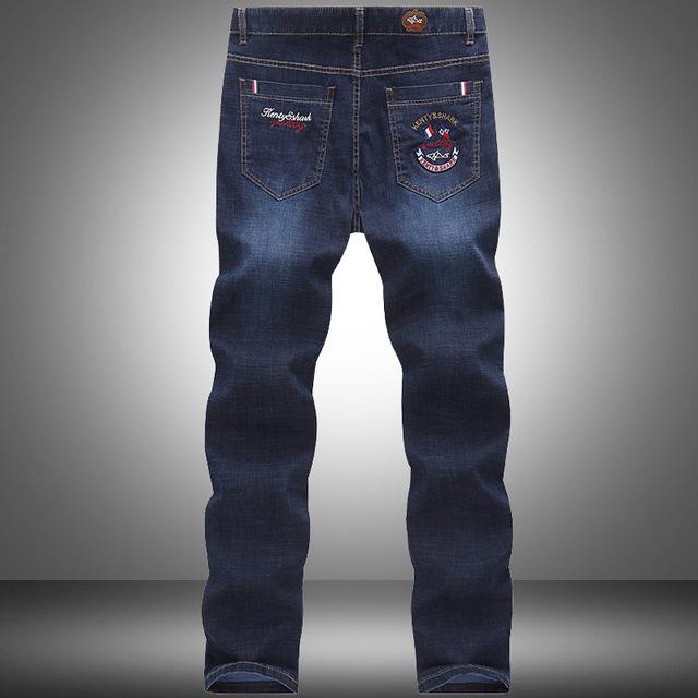 Mens Straight Denim Shark Brand Jeans