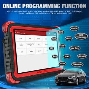 """Image 2 - Thinkcar thinktool prós + carro obd2 ferramenta de diagnóstico 10 """"sistema completo adas código scanner programação em linha pk maxisys maxicom 908 pro"""