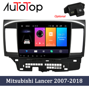 AUTOTOP 2Din Android 10.0 Car Multimedia Player for Lancer x 2007-2018 Radio GPS Navigation Bluetooth 4G Wifi Mirrorlink No DVD(China)