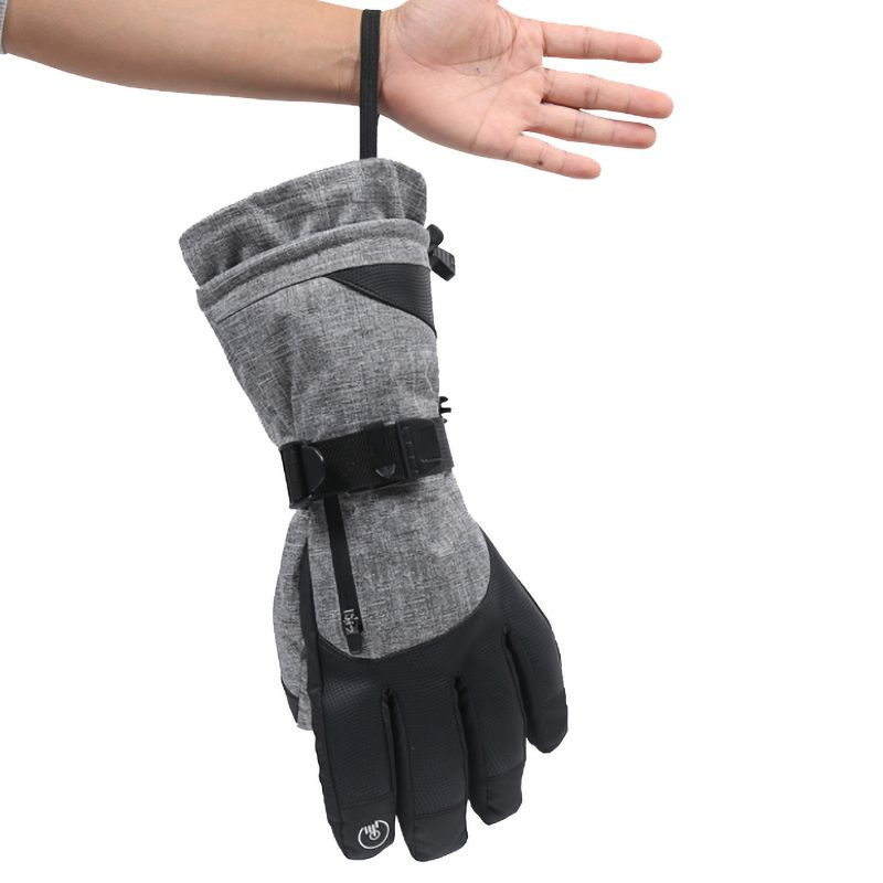 Men Women New Winter Warm Waterproof Wear-resistant Thickening Cycling Non-slip Sports Thinsulate Ski Gloves