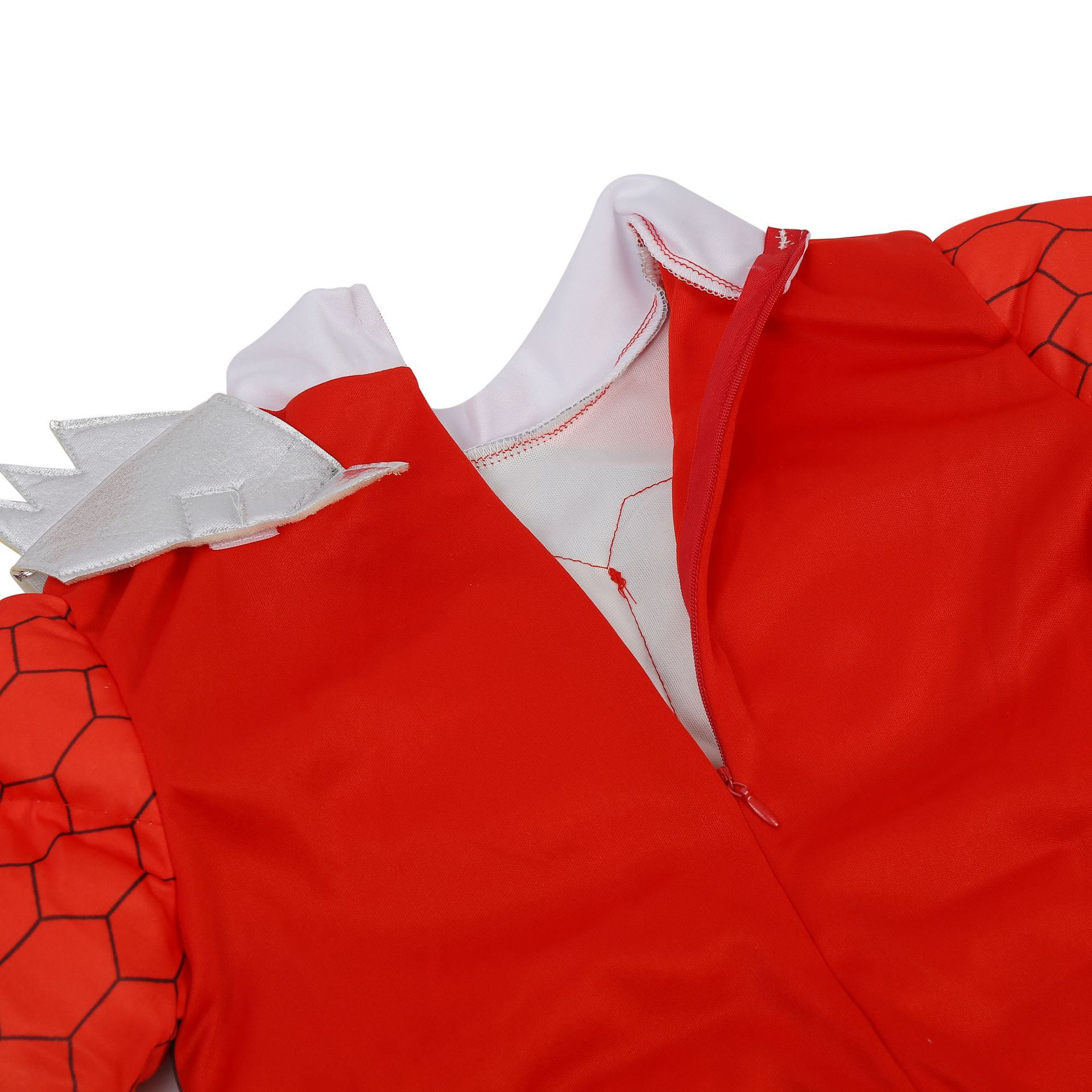 Red Power Dino Charge Boys Muscle Costume 6