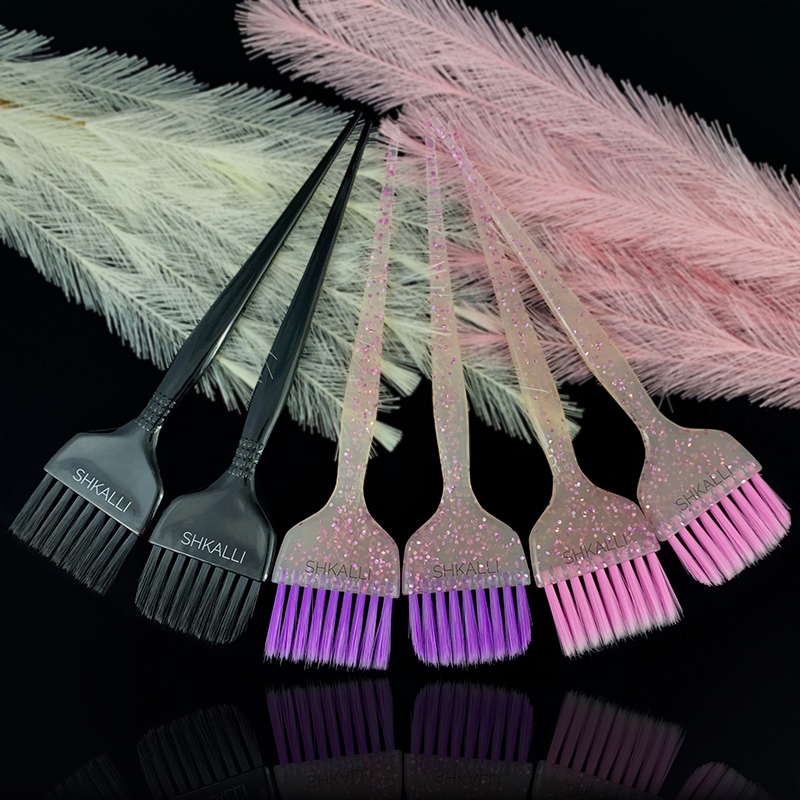 Glitter Dye Brush,Hair Dye Brush,Balayage Tint Brush,hair Coloring Brush,hair Bleach Brush For Hair Dyeing Balayage