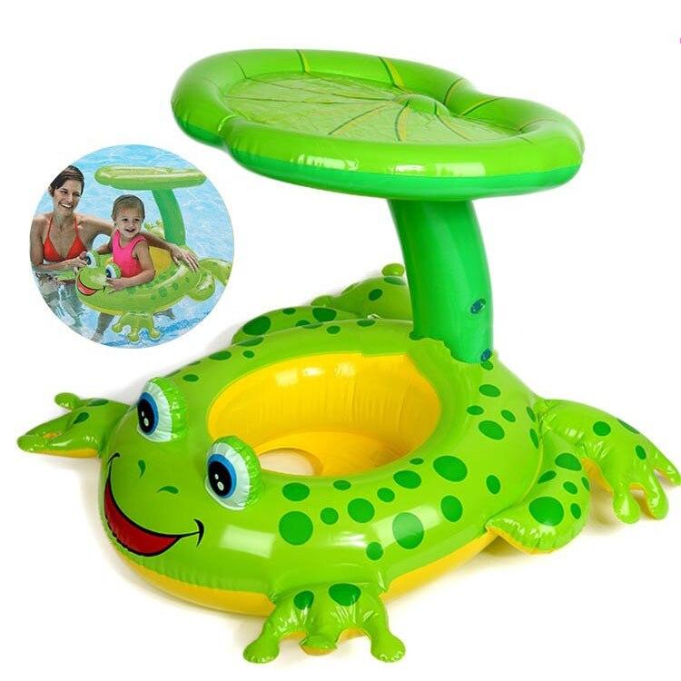 brinquedos inflaveis da piscina flutuadores para criancas jangadas da piscina engracado guarda chuva da agua do