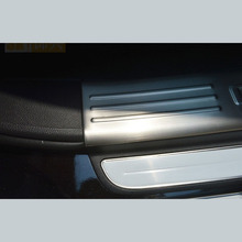 цена на Free shipping for Chevrolet Captiva 2013-2017 stainless steel scuff plate inside door sill 4pcs/set high quality