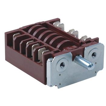 Czarny 360 stopni obrotowy grzejnik elektryczny pokrętło przełącznika zasilania 20A 16A 250V przełącznik biegów wielu zakres kuchnia gazowa przełącznik RT345-1A tanie i dobre opinie USBO ROHS PRZEŁĄCZNIKI rotary Switch Z tworzywa sztucznego 20A 250V 100M ohm min 100V DC 250V AV for 1min 100m ohm max