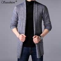 2019 мужские трикотажные пальто и куртки зимний мужской осенний свитер кардиган трикотажное пальто куртка толстовка верхняя одежда Уличная