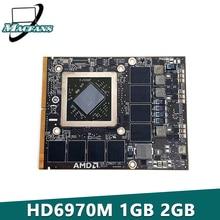 "IMac 27 ""A1312 1GB 2GB 비디오 그래픽 프로세싱 카드에 적합한 HD6970 HD6970M 테스트 109 C29657 10 216 0811000"