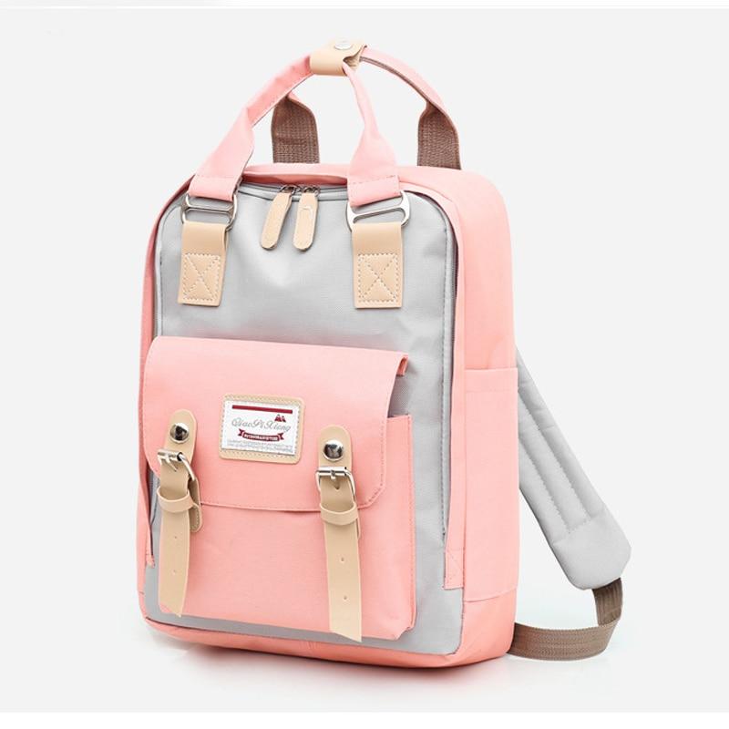 Large Capacity Women Oxford Backpack New Fashion Anti-thief Multi Procket Backpacks Female Travel Bag Mochilas Shoulder Bags