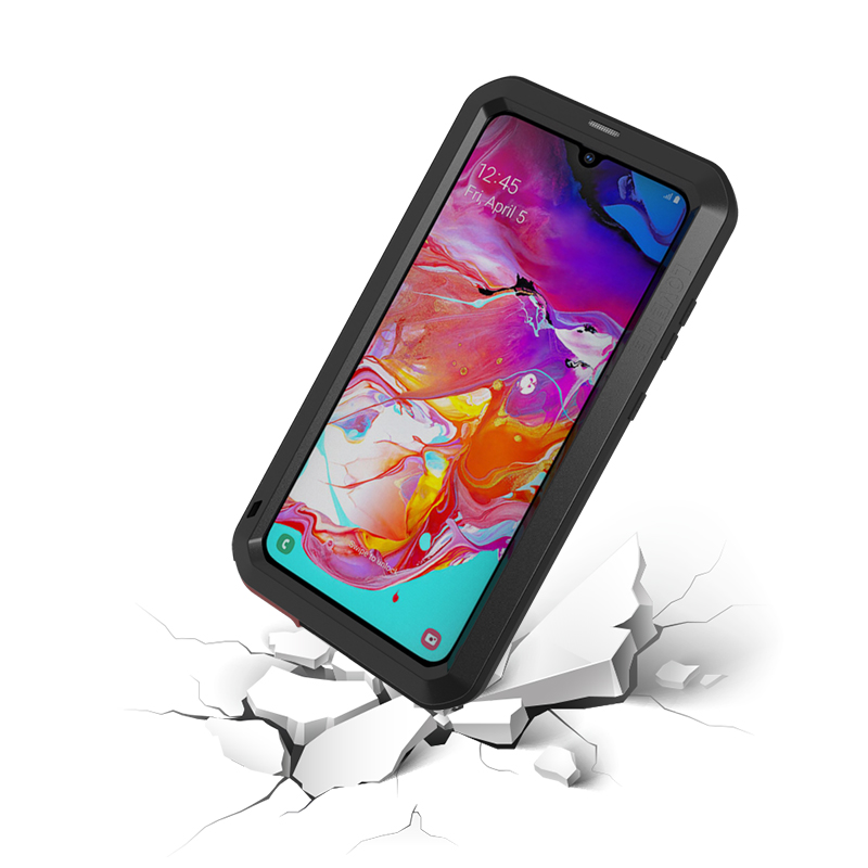 Image 5 - Waterproof For Samsung A70 Case Armor 360 Full Protect  For Samsung Galaxy A 70  Aluminum silicone Phone Cases Cover Coque Capa-in Fitted Cases from Cellphones & Telecommunications