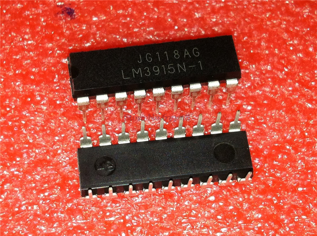 10pcs/lot LM3915N-1 LM3915N LM3915 DIP-18 In Stock