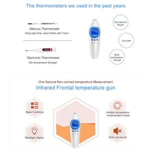 Image 4 - Medical Infrared Thermometer Forehead Temperature Gun Non contact Baby Adult Temperature Instrument Handheld Digital Thermometer