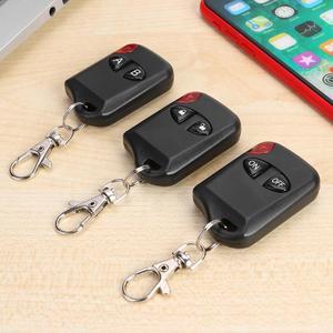 Image 3 - AK KB1810 4 Knoppen 433Mhz Afstandsbediening Universele Kopie Duplicator Elektrische Schakelaar Voor Garagedeur Alarm Automatische Deuren