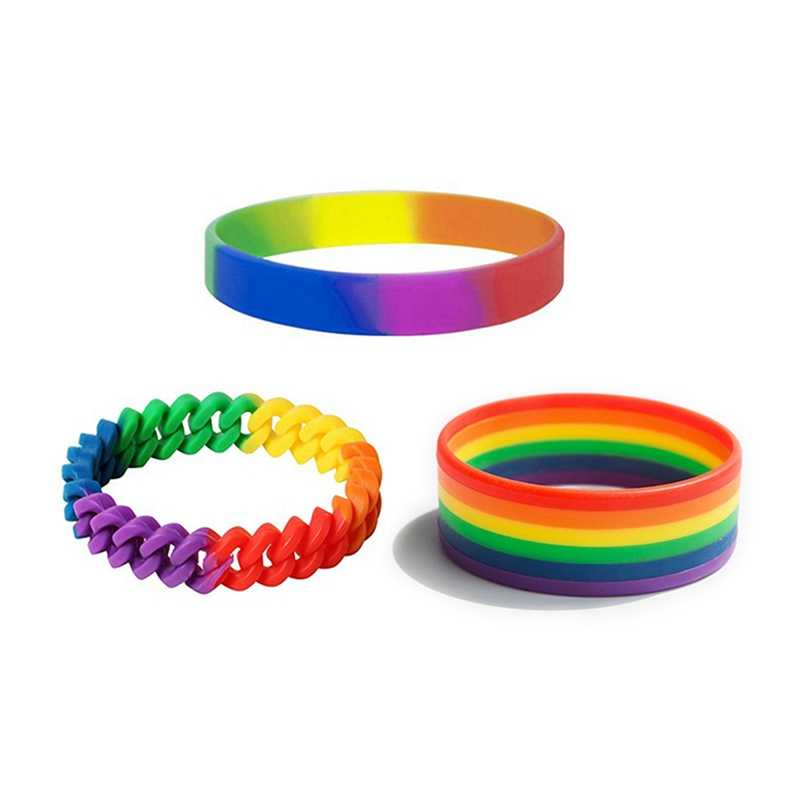 Gay Pride LGBT Rainbow Unisex Bracelet