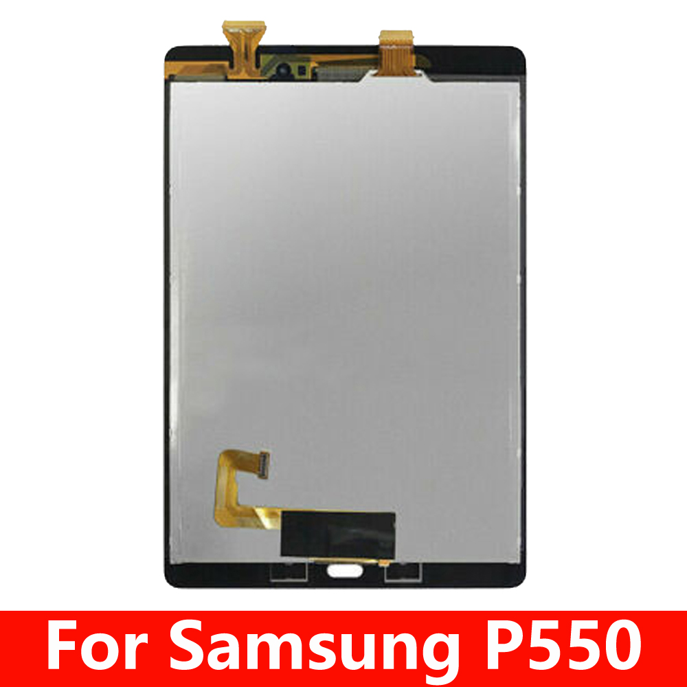 For Samsung Galaxy Tab A 9.7 SM-P550 P550 SM-<font><b>P555</b></font> <font><b>P555</b></font> Touch Screen Digitizer Glass Lcd Display assembly Replacement image