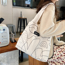 Chic Illustration Shopping Bag Tutorial Bags Fashion And Lovely For Young People Shoulder Bag Student Bag
