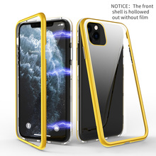 For iphone 11 case Phone Case xs max Cases With Protective Front Frame coque funda x 6s XR 8 Cover