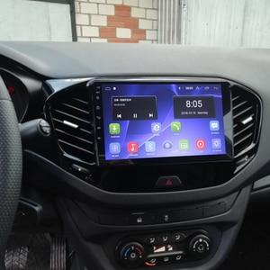 Image 5 - Android 9.1 4G wifi 2din car radio for LADA Vesta Cross sport 2015 2019 car dvd player autoradio car audio stereo radio 2G 32G