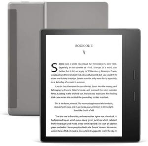"""Image 2 - All New Kindle Oasis   2019 release 32GB, E reader   7"""" High Resolution Display (300 ppi), Waterproof, Built In Audible, Wi Fi"""