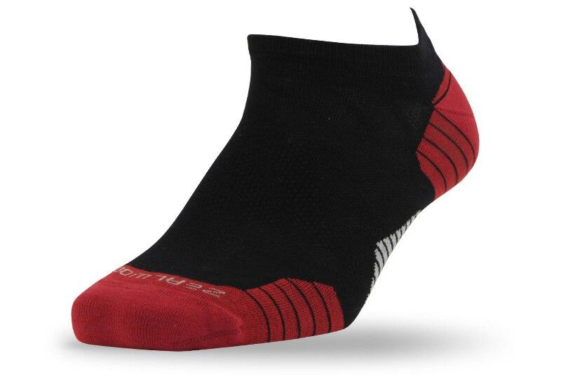 1 pair black red