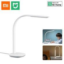 Xiaomi-lámpara de mesa Mijia Philips, luz de lectura inteligente con 3 LED, WiFi, 10 niveles de atenuación, Sensor de luz ambiental para estudiantes, Ra90