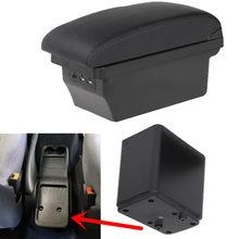 Reposabrazos para coche Citroen Berlingo Peugeot Partner, apoyabrazos ABS para coche, reposabrazos de diseño, caja central, consola, accesorios USB