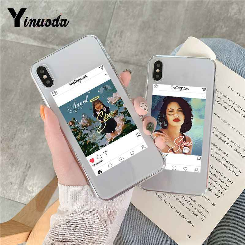 Yinuoda selena quintanilla Coque Shell Phone Case for iPhone 8 7 6 6S Plus X 5 5S SE XR XS XSMAX Coque Shell Fundas Capa