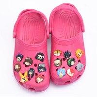 Abalorios de dibujos animados para zapatos de Croc para niña, decoración de zapatos para deportes niños, pulseras, accesorios, beisbol, fútbol, gran oferta