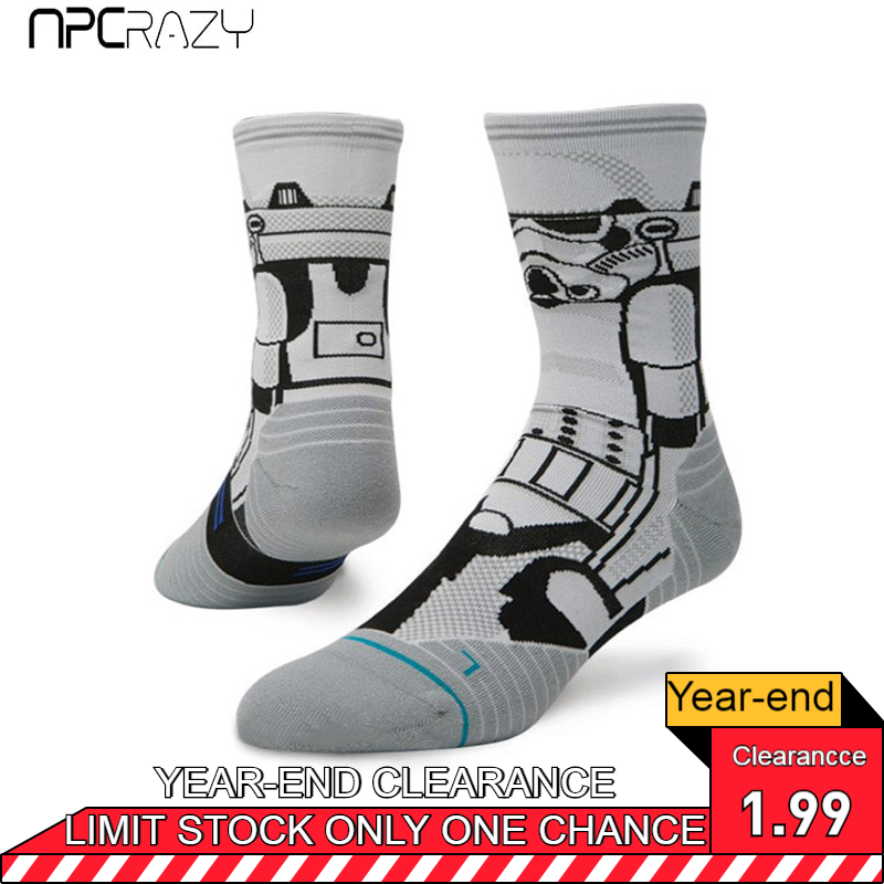 Socks Men Running Sock StormTrooper Star Wars Socks Nylon Rush Running Sock Ankle Protection Compression Outdoor Sport