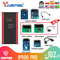 Iprog+ Iprog Pro key Programmer Support IMMO Mileage Correction Airbag Reset Till The Year 2018 Replace Carprog/Full/Digiprog