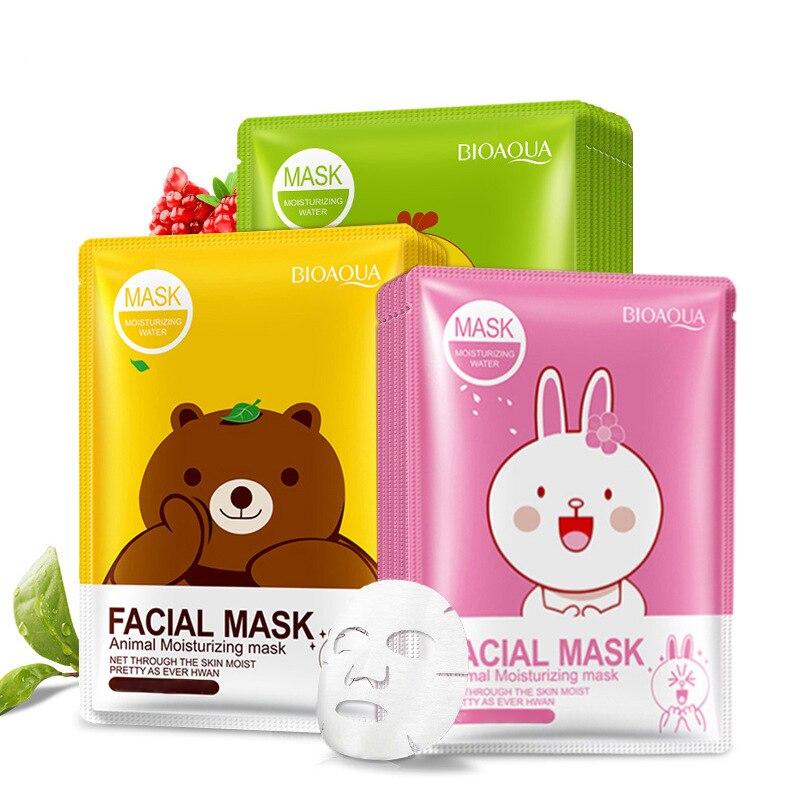Hyaluronic Acid Moisturizing Korean Face Mask Collagen Sheet Mask Acne Treatment Facial Jelly Mask Skin Care Korean Cosmetics