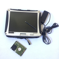 High quality Toughbook CF19 laptop Toughbook for Panasonic laptop CF 19 for SD C3/MB Star C4/MB Star C5 alldata software