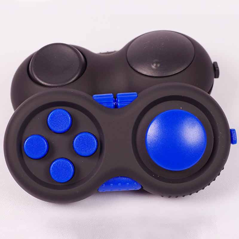 Children Game Handle Toys Plastic Reliever Stress Hand Fidget Pad Key mobile phone accessories Decompression Gift