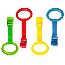 Детская обучающая стоящая кроватка ручное кольцо для дома Экономия пространства портативная Детская кровать Висячие тяговые кольца игрушки
