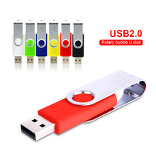 USB-stick Rotation 128gb pen drive 2,0 memory stick 32GB 16GB 8GB 4GB usb flash card 64gb USB Stick 256 gb-sticks