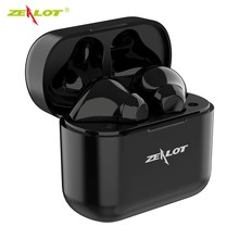 T3 TWS Wireless Headsets  Headphones Earbuds Sport Bluetooth Earphones Touch Control HIFI mini Outdoor  with HD Call Microphone