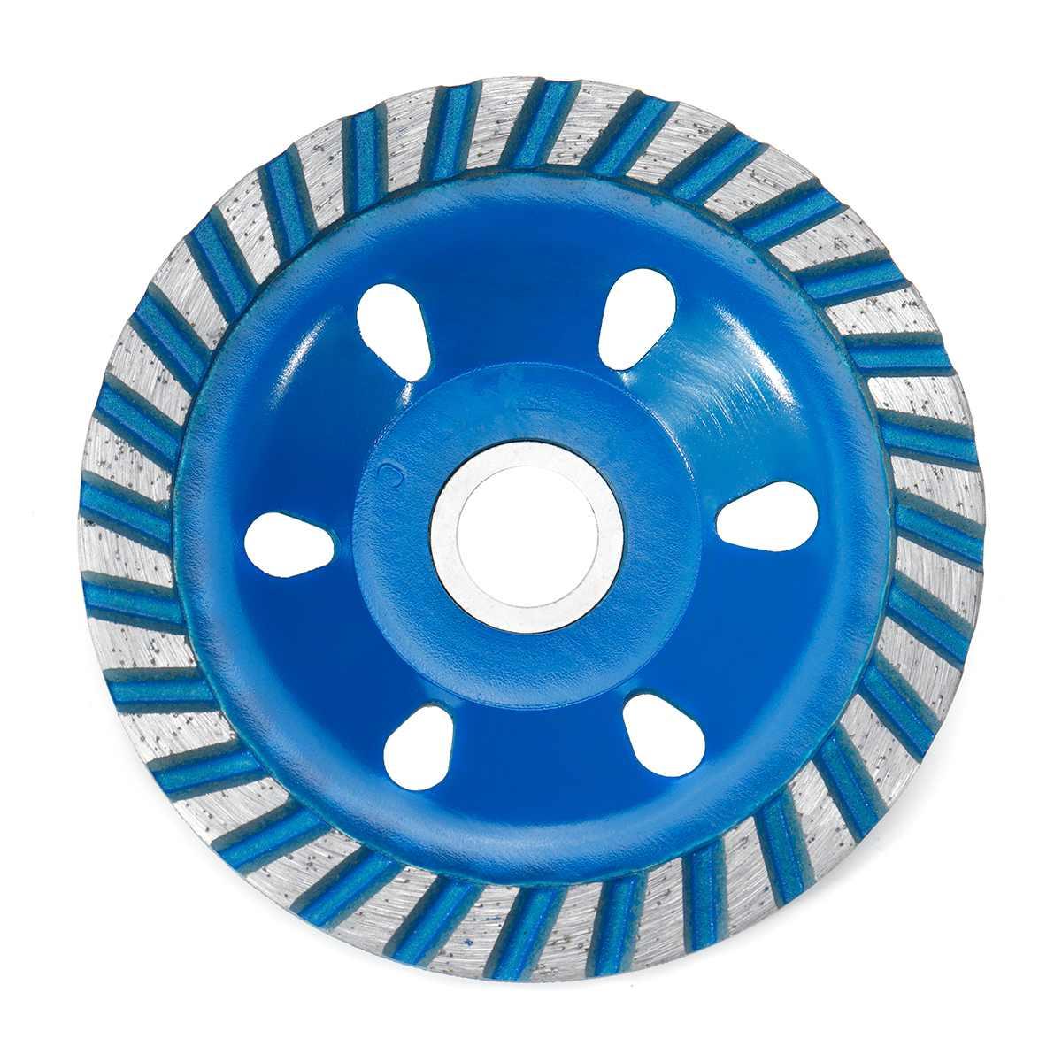 Прочный 5 Тип 4 дюйма 100 мм Алмазный шлифовальный диск шлифовка в форме чаши чашка бетонный гранитный камень Керамика инструменты - Наружный диаметр: Blue