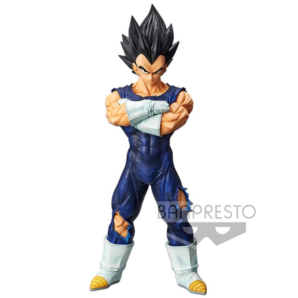Image 3 - Tronzo Original Banpresto Dragon Ball Super Grandista ROS Vegeta Goku Black Hair PVC Action Figure Model GROS DBZ SSJ Toys GiftsAction & Toy Figures   -