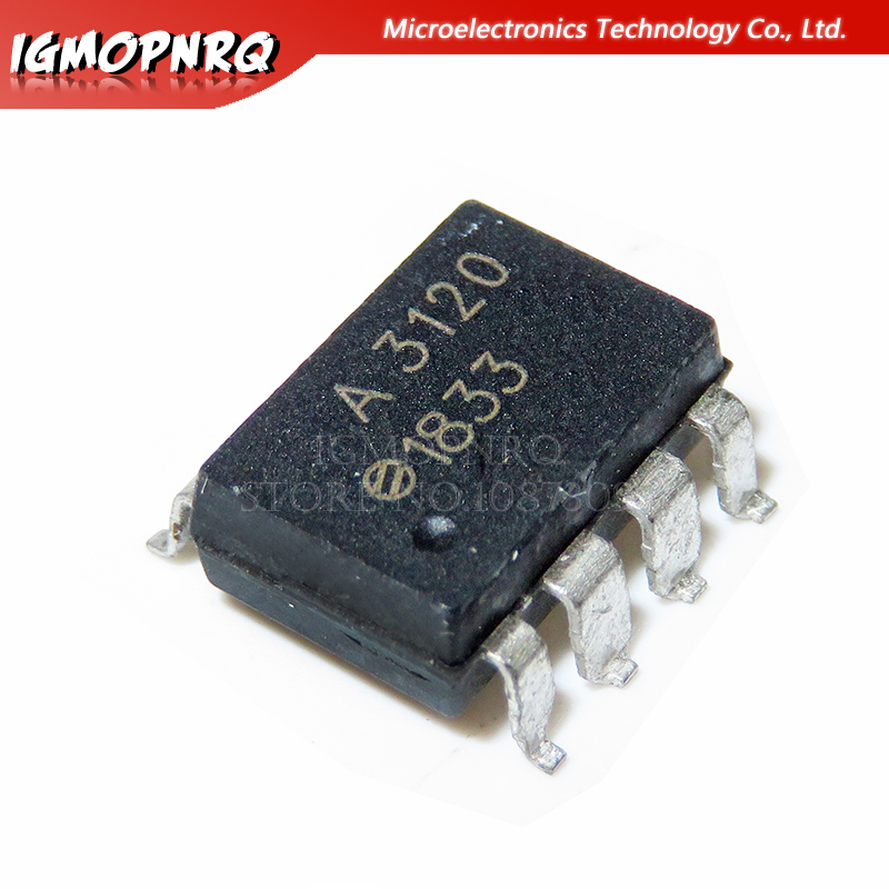 10pcs HCPL3120 HCPL-3120 A3120 SOP8 New Original