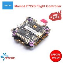 Diatone Mamba F722S F7 OSD Bluetooth Flight Controller & F60PRO 60A F50Pro 50A BL_32 3-6S 4in1 ESC Stack for RC Drone FPV Racing(China)