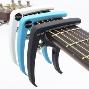 Guitar Capo Lightweight Guitar Capo Folk Acoustic Electric Guitar Capo Guitar Instrument Accessories Guitarra Home appliance par