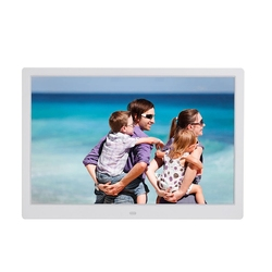 15.4 Inch Digital Photo Frame Press Button Electronic Photo Album Full format 1080P Wall Hanging Display Advertising Machine Whi
