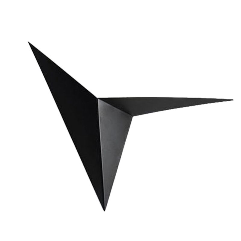 Modern Minimalist Triple cornered Shape LED Wall Lamp Nordic Style Indoor Wall Lamp Living Room Lamp 3W 85 265V Simple Lighting|Wall Lamps| |  - title=