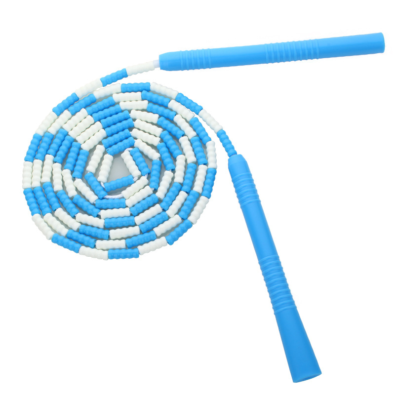 Jump Rope Children Primary School STUDENT'S Bamboo Joint Knot And Tiaoshen Sports With Sports Rope Kindergarten Flower Style Pro