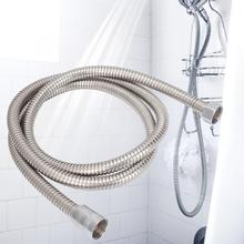 Bathroom Shower Hose Stainless Steel Showering Tube G1/2in flexible tubes for Shower Head Bathroom Accessories stylish metal handheld straight round stick shower head w flexible stainless steel tube silver