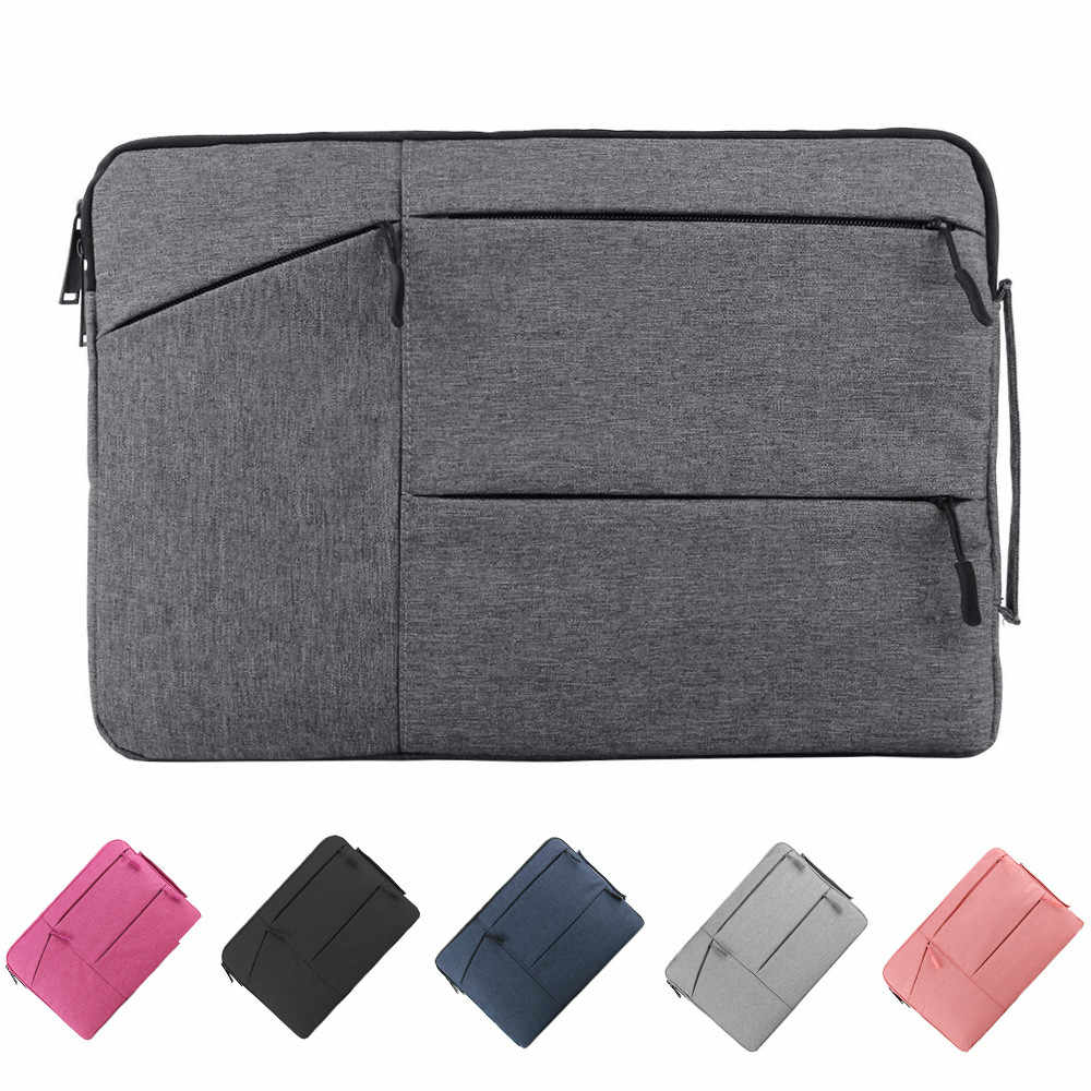 Laptop Tas 12 13.3 15.6 14 Inch Waterdichte Notebook Bag Sleeve Voor Macbook Air Pro 13 15 Computer Handtas Aktetas sleeve Bag