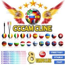 Лучший европейский cccam Испания Full HD Cccam cline на 1 год Европа Португалия Oscam cline Германия для ТВ приемник Gtmedia V8 NOVA