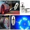 2PCS Car Bicycle Motocycle LED Lights Wheel Tire Valve Caps Cycling Lantern Spokes Hub Tyre Lamp MTB Bike Accessories