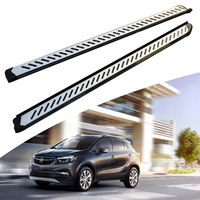 KINGCHER Fit For Buick Encore 2013 2014 2015 2016 2017 2018 2019 Running Boards Side Step Nerf Bar Aluminium