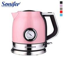 1.8L 304 Rvs Waterkoker Met Water Temperatuurregeling Meter Huishouden Quick Verwarming Elektrische Thee Pot Sonifer
